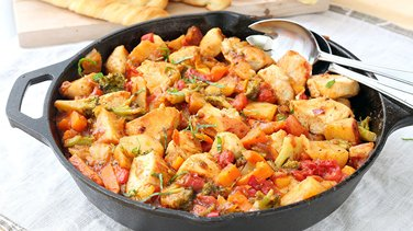 One-Pot Chicken and Vegetable Skillet