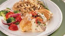 Chicken with Bacon and Mushrooms Recipe
