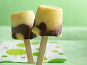 Fudgy Chocolate-Banana Pops