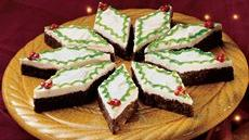 Holly-Day Mint Brownies Recipe