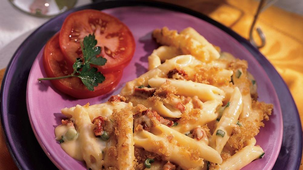 Penne and Two Cheeses