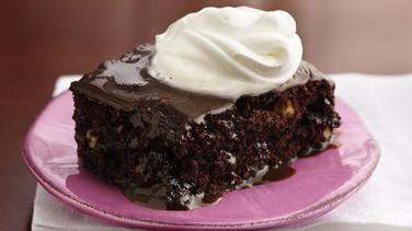 Hot Fudge Brownie Dessert