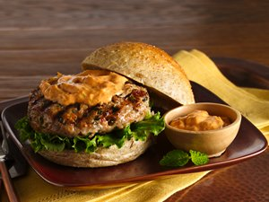 Thai&#32;Turkey&#32;Burgers&#32;with&#32;Red&#32;Curry&#32;Mayo