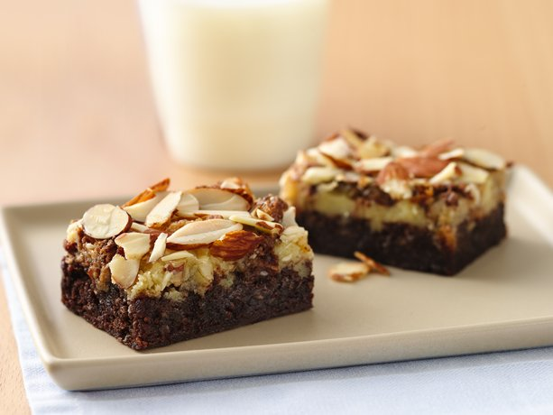 Image of Almond Fudge Bars, Betty Crocker
