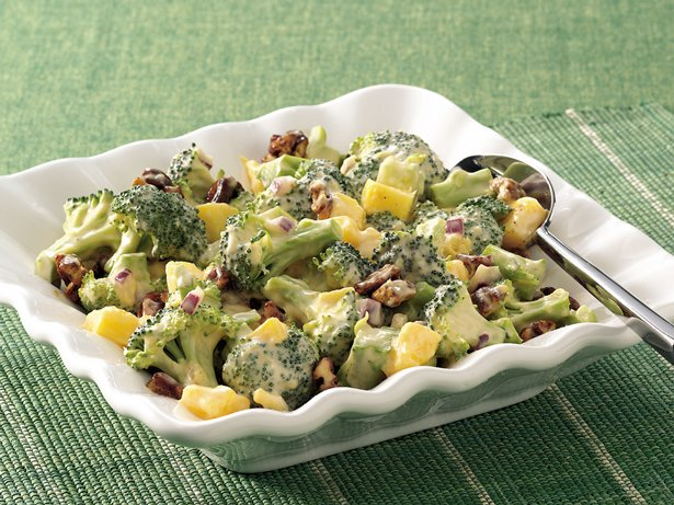 Spicy Broccoli-Mango Salad
