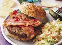 Garlic-Basil Burgers