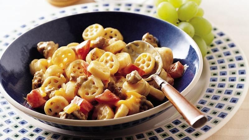 Cheeseburger Pasta Toss