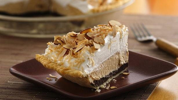 Almond Butter-Chocolate Delight Pie