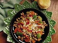 Savory Black-Eyed Peas with Bacon
