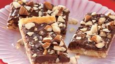 Chocolate Macaroon Crescent Bars Recipe