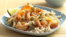 Key Lime Shrimp Red Curry Recipe