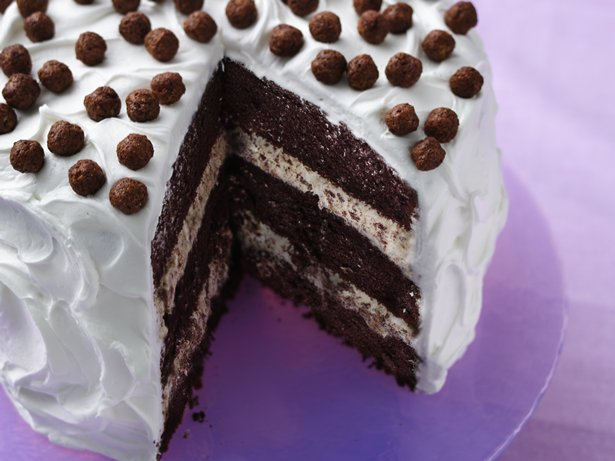 Cocoa Puffs Cereal Crunch Cake
