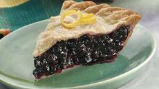 Ginger-Lemon-Blueberry Pie Recipe
