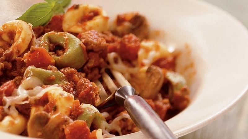 Slow-Cooker Cheesy Italian Tortellini