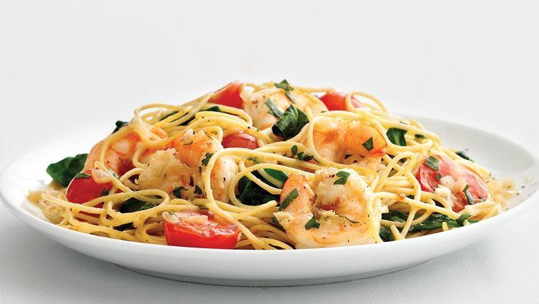 Shrimp spaghetti recipes easy