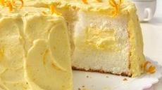 Orange Cream Angel Food Cake Recipe
