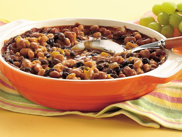 Slow Cooker 4-Can Baked Beans