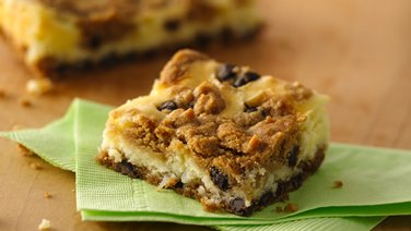 Chocolate Chip Cheesecake Bars (Party Size)