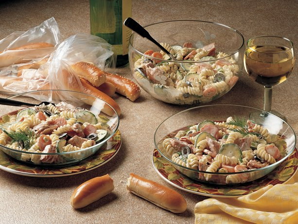 Dilled Salmon Salad Recipe — Dishmaps