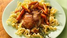 Honey-Glazed Chicken and Carrots Recipe