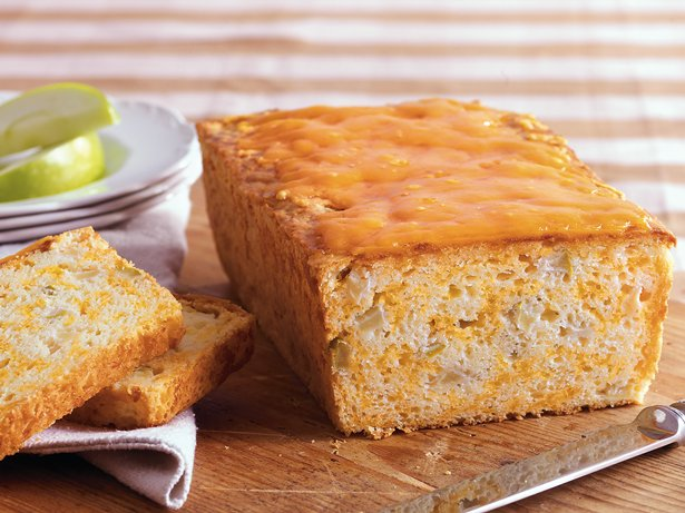 Apple Cheddar Bread