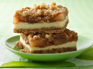 Apple&#32;Streusel&#32;Cheesecake&#32;Bars