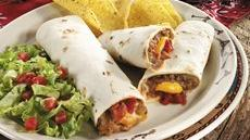 Beef and Bean Wraps Recipe