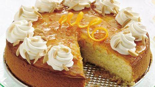 Creamy Orange Cake recipe from Betty Crocker