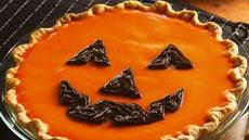 Jack–o'–Lantern Orange-Pumpkin Pie Recipe