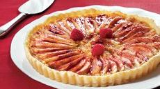 Raspberry-Almond-Pear Tart Recipe