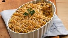 Layered Mac &#39;n Cheese with Ground Beef Recipe