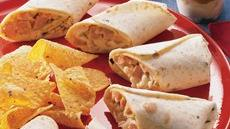 Hot Ham and Cheese Wraps Recipe
