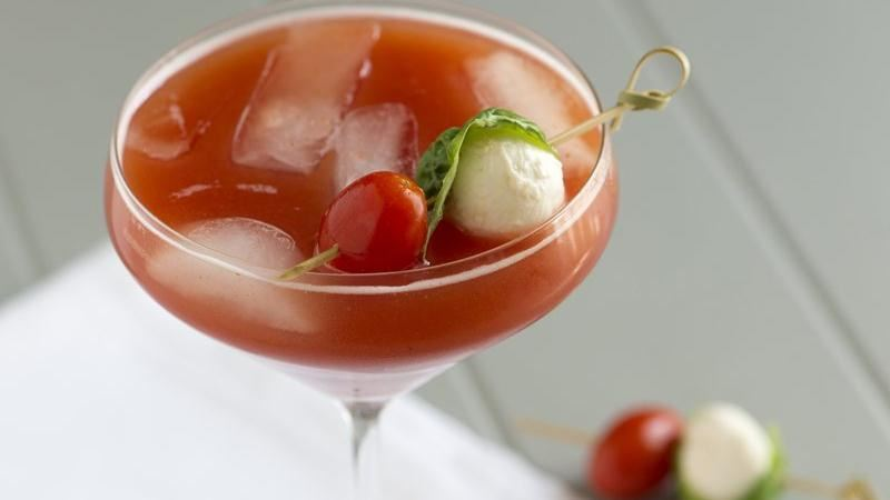 Tomato Basil Martini