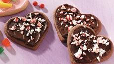 Peppermint Cookie Hearts Recipe