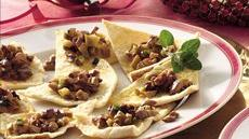 Pita Triangles with Olive Relish Recipe