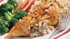 Blue Cheese and Apple-Stuffed Chicken Breasts Recipe