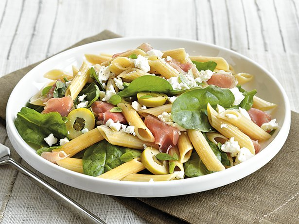 Prosciutto and Olive Pasta Salad