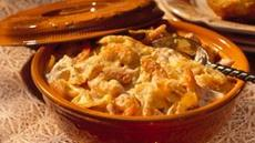 Parmesan-Shrimp Pasta Bake Recipe