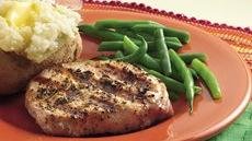 Sage and Rosemary Pork Chops Recipe