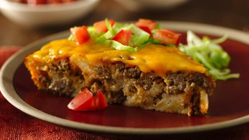 Gluten-Free Impossibly Easy Taco Pie