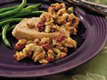 Slow Cooker Pork Chops with Apple-Cherry Stuffing