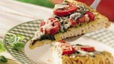 Grilled Italian Pesto Pizza Recipe