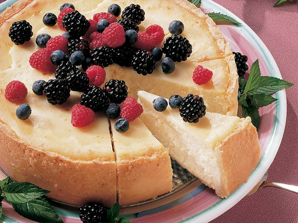 New York Cheesecake (lighter recipe)