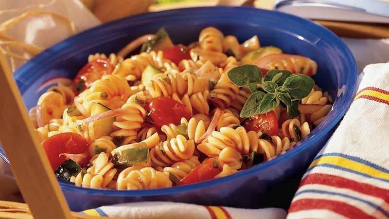 Italian Herb Pasta Salad
