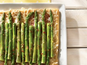 Ham&#32;and&#32;Asparagus&#32;Squares
