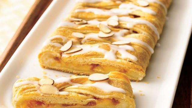 Image of Apricot-almond Coffee Cake, Pillsbury