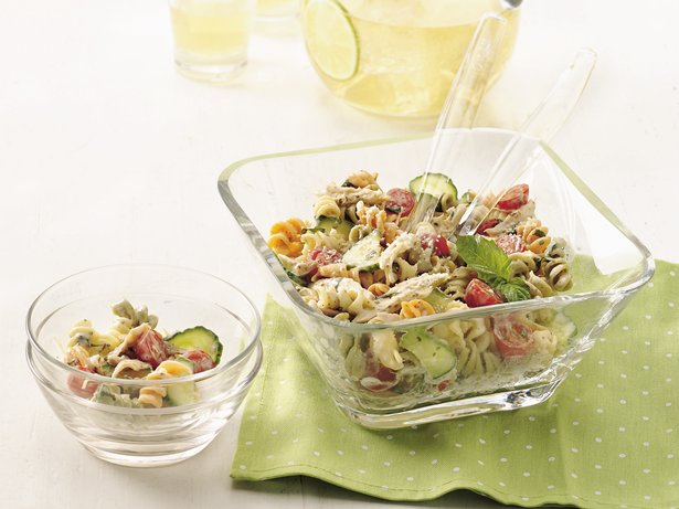 Chicken Alfredo Pasta Salad