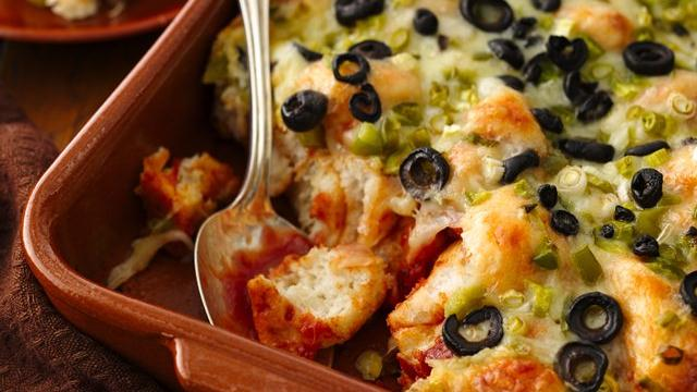 Mexican Fiesta Biscuit Bake