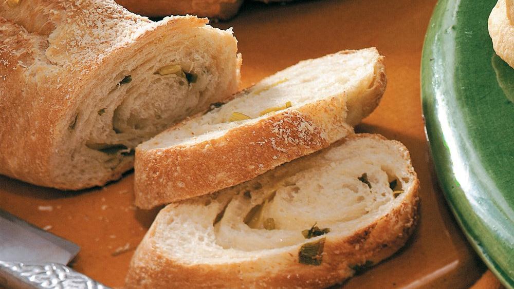 Onion-Garlic Loaf