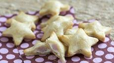 Mini Ham and Goat Cheese Star Pies Recipe